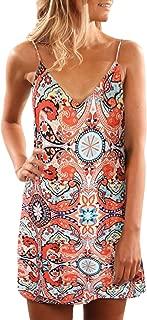 Best orange pattern dress Reviews