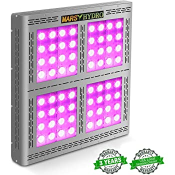 MARS HYDRO Led Grow Light Full Spectrum for Indoor Plants Veg and Flower Plant Lights for Hydroponics Grow Lights High Yield (Pro II Epistar1600W)
