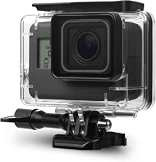 TASLAR Go Pro Underwater Housing Waterproof Case Diving Protective Shell Accessories Cover with Bracket for GoPro Hero7 Black 2018, Hero 6, Hero 5 Action Camera