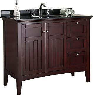 Best bathroom vanity with granite top Reviews