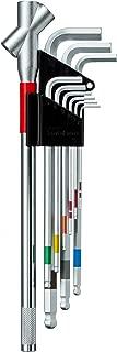 ワイズ(WISE) レンチ スーパーボールレンチセット SBL-1000 LLタイプ トリプルハンドル付