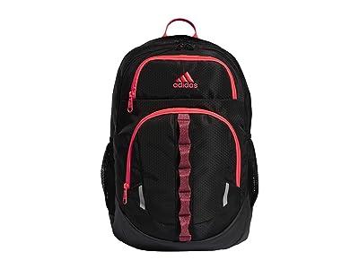 adidas Prime V Backpack (Black/Onix/Signal Pink/Tech Indigo) Backpack Bags