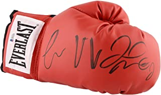 Conor McGregor & Floyd Mayweather Autographed Everlast Boxing Glove - BAS COA - Beckett Authentication