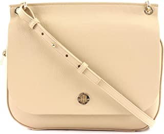 Tommy Hilfiger TH Core Messenger Warm Sand and Silver Metallic