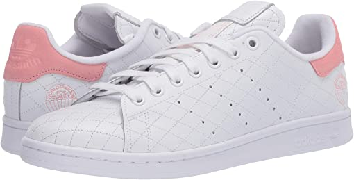 Footwear White/Footwear White/Glory Pink
