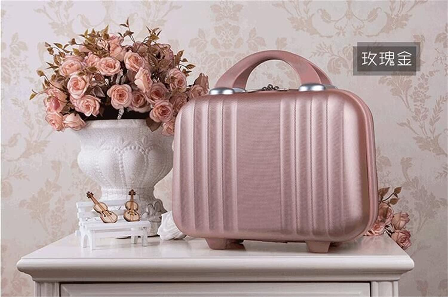 Bilateral Stripe Typ ABS Polychrome Prin Travel Mini New product For Luggage New mail order