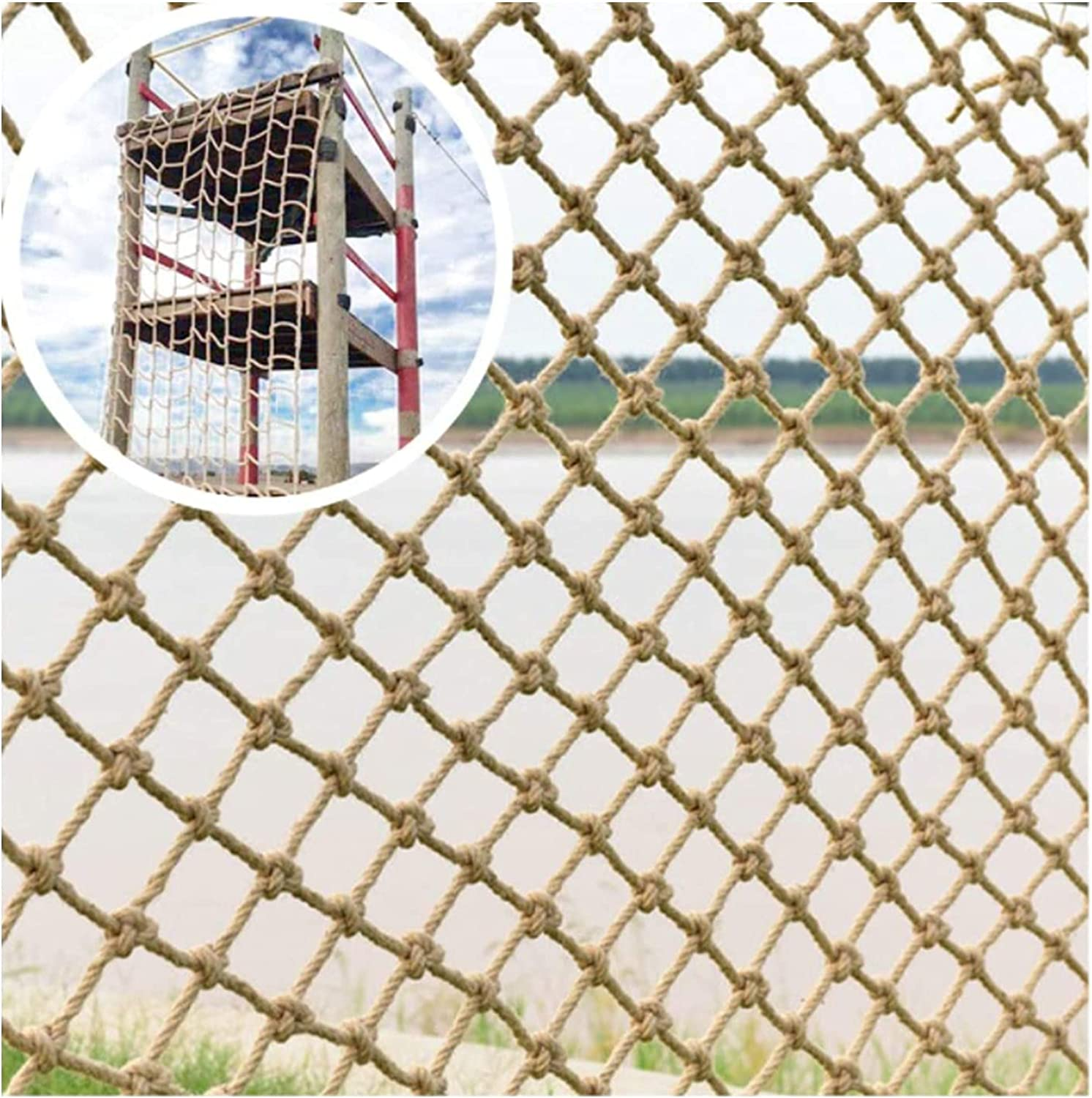 Climbing Net for Kids Safety Cargo Duty Rope Heavy Hemp Max 46% OFF Limited time cheap sale