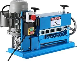 Cueffer Máquina de Pelacable Φ1.5mm ~ Φ38mm Máquina Peladora de Cables Eléctrica Wire Stripping Machine Máquina Pelacable Industrial para Cable de Cobre con 11 Orificios
