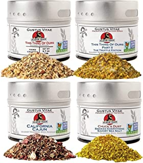 Sponsored Ad - Chuck's Flavor Train Collection | 4 Gourmet Seasonings, Spice Blends & Rubs | All Natural | Non GMO | Susta...