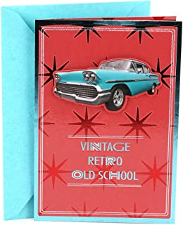 Hallmark Birthday Greeting Card for Him (Vintage Car)
