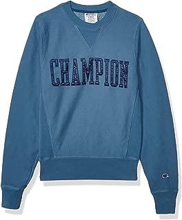Champion LIFE Mens S4453 Vintage Wash Reverse Weave® Crew W/V-Notch Sweatshirt