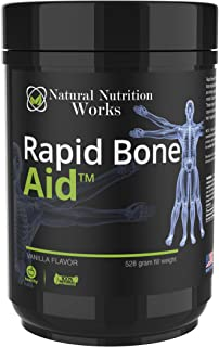Natural Nutrition Works -Rapid Bone Aid - Supplement Powder & Fracture Protocol EBook (Vanilla)