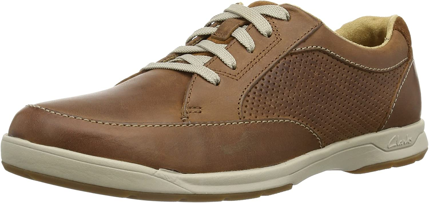 Clarks shoes 20358593 Stafford PARK5 Brown