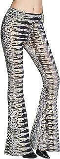 COMVIP ファッション レディース ゆったり ズボン カジュアル ボトムス ロングパンツ 柔らかい シンプル プリント 人気 日常用