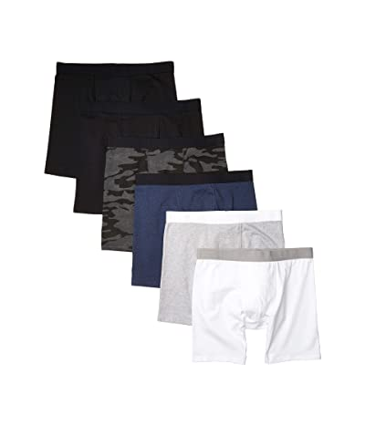 PACT Organic Cotton Extended Boxer Brief 6-Pack (Spring Pack) Men