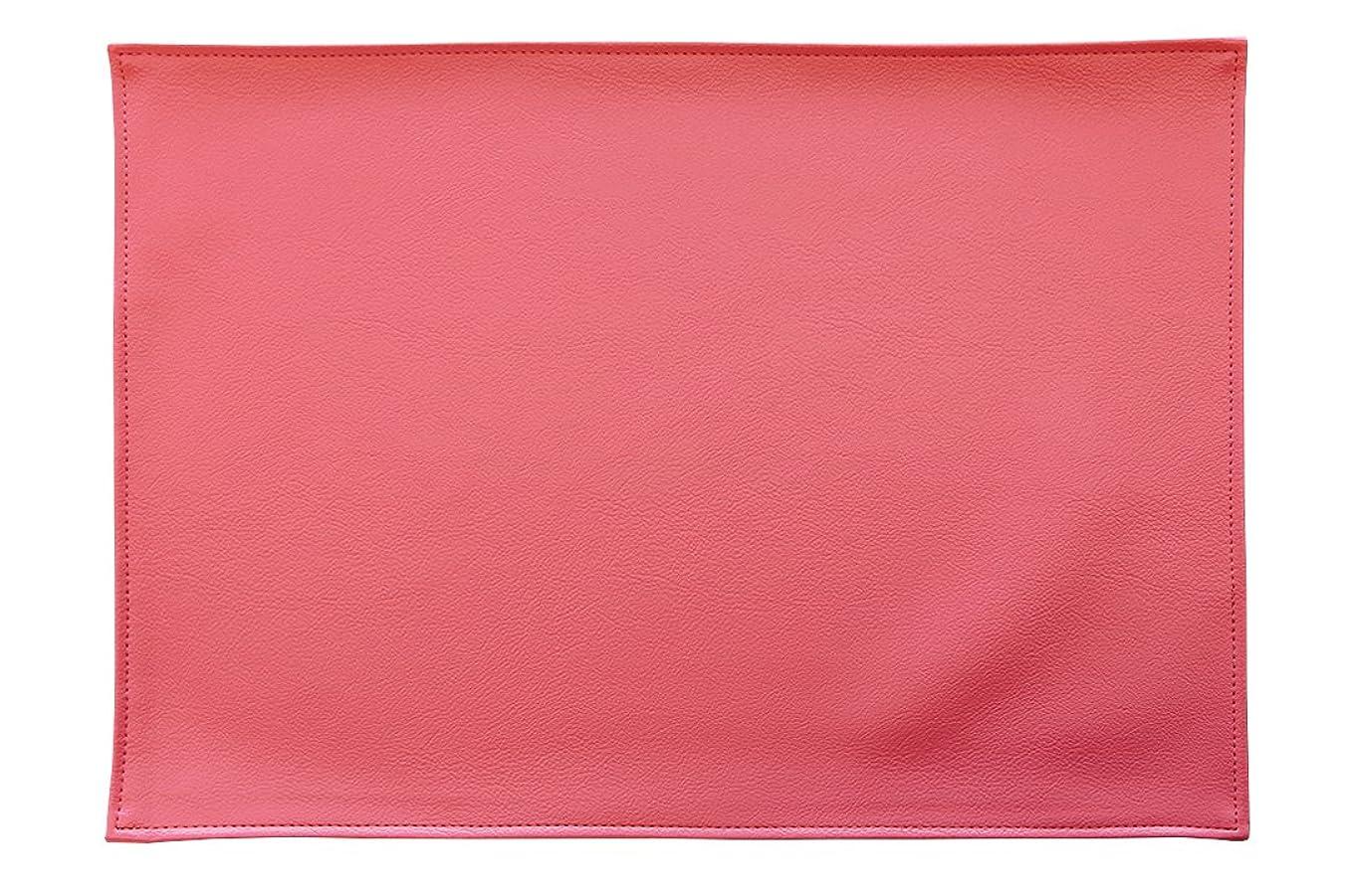 藤色タバコ温度計TEES FACTORY 国産 PVC レザー ランチョン プレース マット LEKKU ピンク