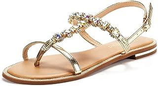 Women's T-Strap Flat Sandals