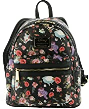 Loungefly X Alice in Wonderland Character Floral Print Mini-Backpack
