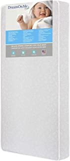 Dream On Me Full Size Firm Foam Crib and Toddler Bed Mattress, Little Baby, 6