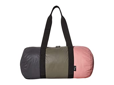 Herschel Supply Co. Day/Night Duffel (Reflective Black/Dusty Olive/Rosette) Duffel Bags