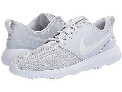 Nike Golf Roshe G (Pure Platinum/Metallic White/White) Men
