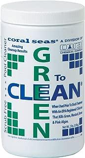 Coral Seas GTC-4# Green to Clean Swimming Pool Chlorine Shock Enhancing Treatment, 4 lb