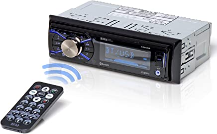 BOSS Audio 632UAB Car Stereo - Single Din, Bluetooth, (No CD/DVD