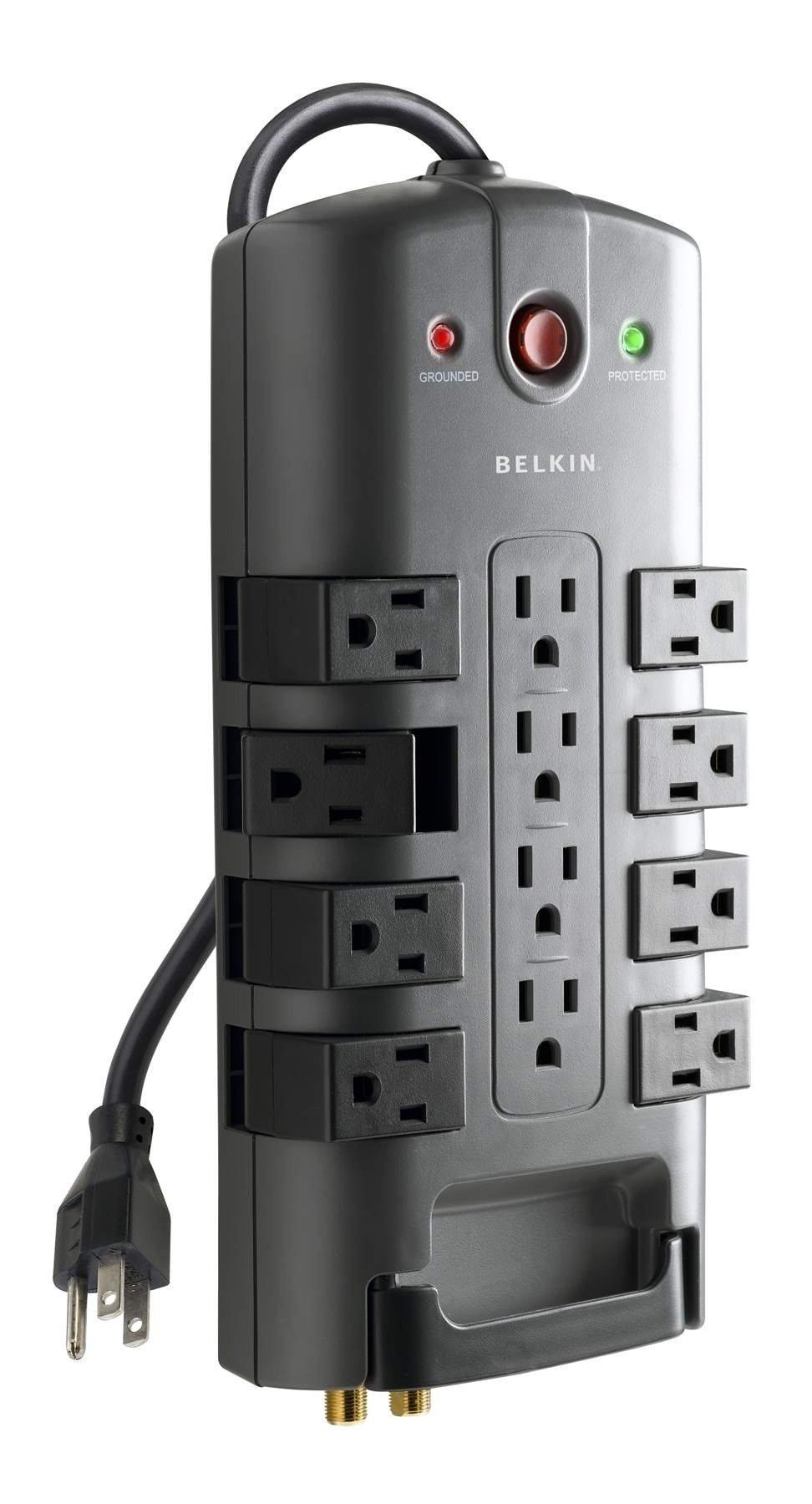 Belkin 12 Outlet Pivot Plug Power Protector