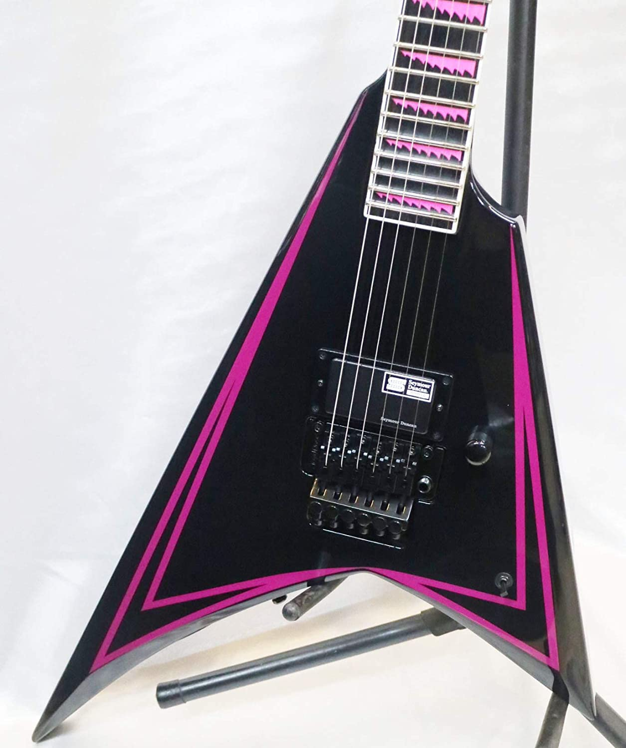 ESP Edwards E-AL-166 Deluxe PINK SAWTOOTH LAIHO Spring new work Japanese ALEXI Electric