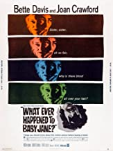 What Ever Happened To Baby Jane Us Poster Art From Left Bette Davis Joan Crawford 1962 Movie Poster Masterprint (11 x 17)