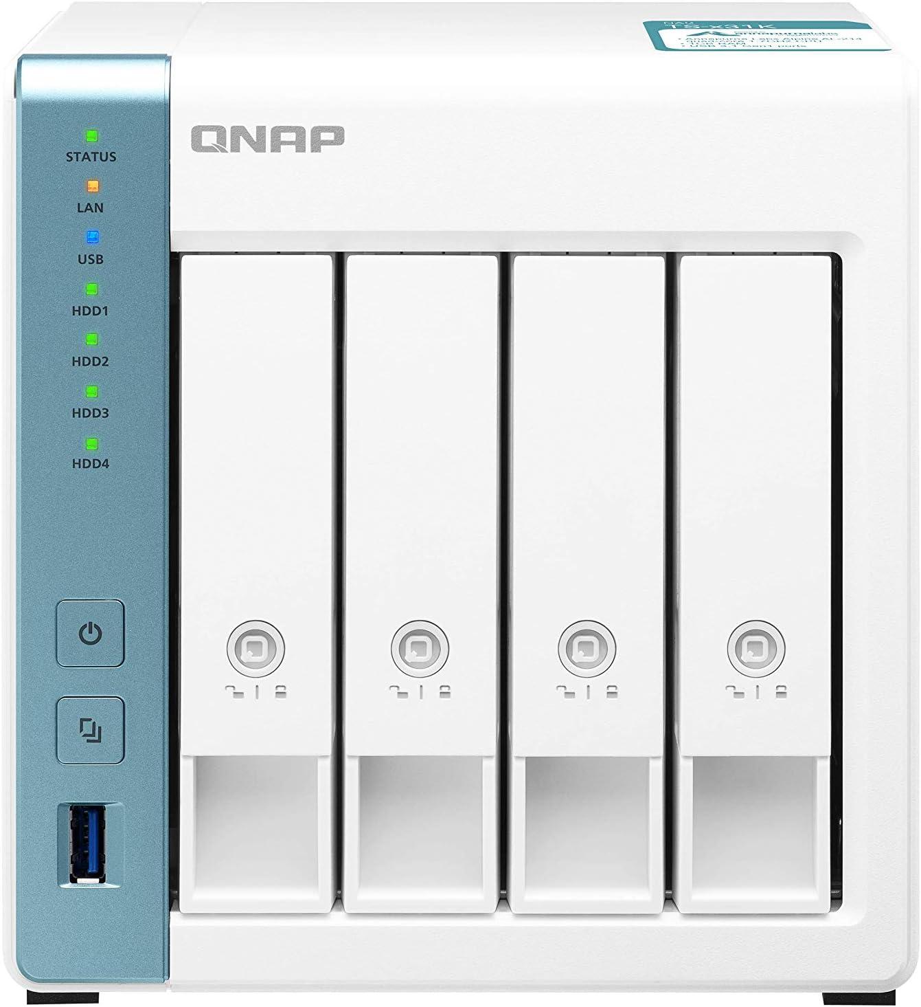 Qnap Ts 431k 16tb 4 Bay Desktop Nas Lösung Computer Zubehör