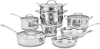 Cuisinart Contour Stainless 13-Piece Cookware Set