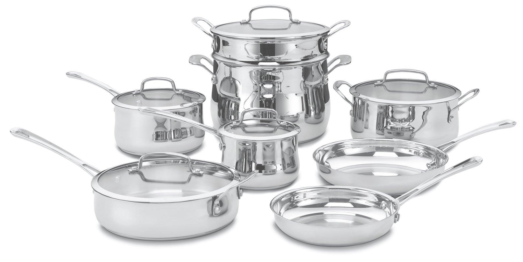 Cuisinart 44 13 Stainless 13 Piece Cookware
