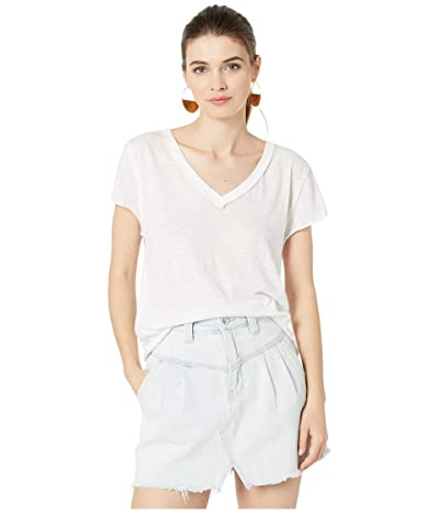 Free People Kaylen Tee (White) Women