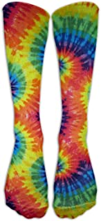 Tie Dye Unisex Casual Pattern Crew Socks Long Socks Boy's Girl's 50cm