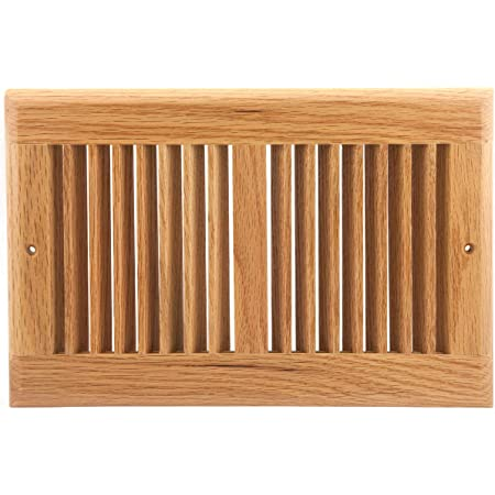 4 X 14 White Oak Wood Flush Mount Floor Register Vent Cover Grille Unfinished By Welland 3 4 In Thickness Amazon Co Uk Diy Tools