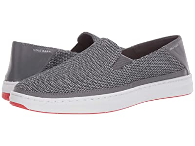 Cole Haan Cloudfeel Knit Slip-On Sneaker (Quiet Shade Gray/Paloma) Men