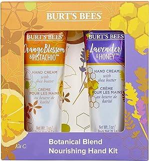 Burt's Bees Botanical Blend Nourishing 2 Piece Hand Kit - 1 x Lavender and Honey Hand Cream (28.3g), 1 x Orange Blossom an...