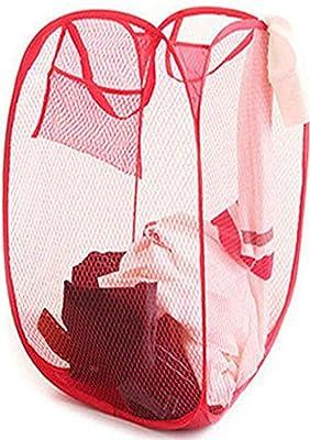 Kuber Industries Nylon Mesh Laundry Basket (CTKTC1478)