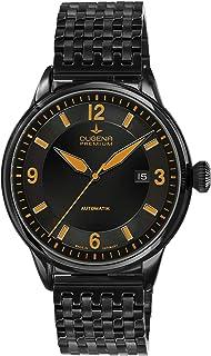Dugena - 7090303 - Reloj para Hombre, automático, analógico, Correa de Acero Inoxidable, Color Negro