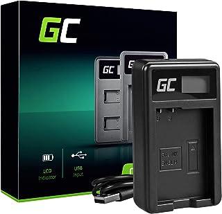 Green Cell MH-24 Cargador para Nikon EN-EL14 Batería y D3100 D3200 D3300 D3400 D5100 D5200 D5300 D5500 D5600 Coolpix P7000 P7100 P7700 P7800 Cámaras (5W 8.4V 0.6A Negro)
