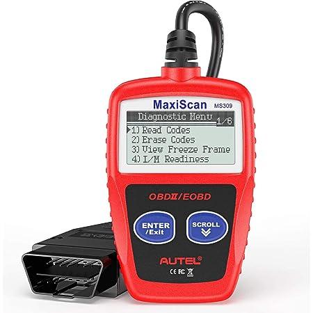 Autel Al301 Obd2 Diagnosegerät Felercodeleser Diagnosewerkzeug Scanner Für Alle Fahrzeuge Auto