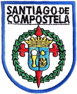 Patch / Iron-on emblem Santiago de Compostela