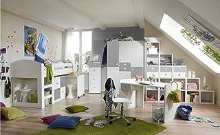 Lifestyle4living Jugendzimmer, Komplett, Set, Jungen, Mädchen,  Jugendzimmermöbel, Kinderzimmer, Kinderzimmermöbel