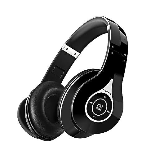 Mpow 059 Auriculares Diadema Inalámbricos, Cascos Bluetooth Plegable con Micrófono Manos Libres y Hi-