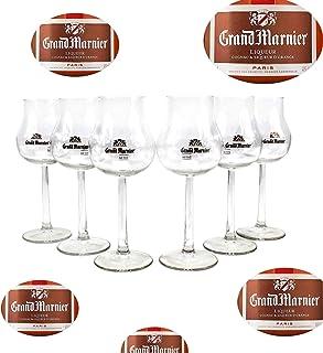 Grand Marnier Gläser Nosing Glas 6er Set Tasting groß geeicht ~mn 855 1272
