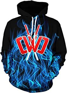 Kids Chad Wild Clay CMC Gamer Flame 3D Print Hoodie Sweatshirts Video Game