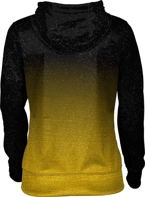 ProSphere Towson University Girls' Zipper Hoodie, School Spirit Sweatshirt (Ombre)