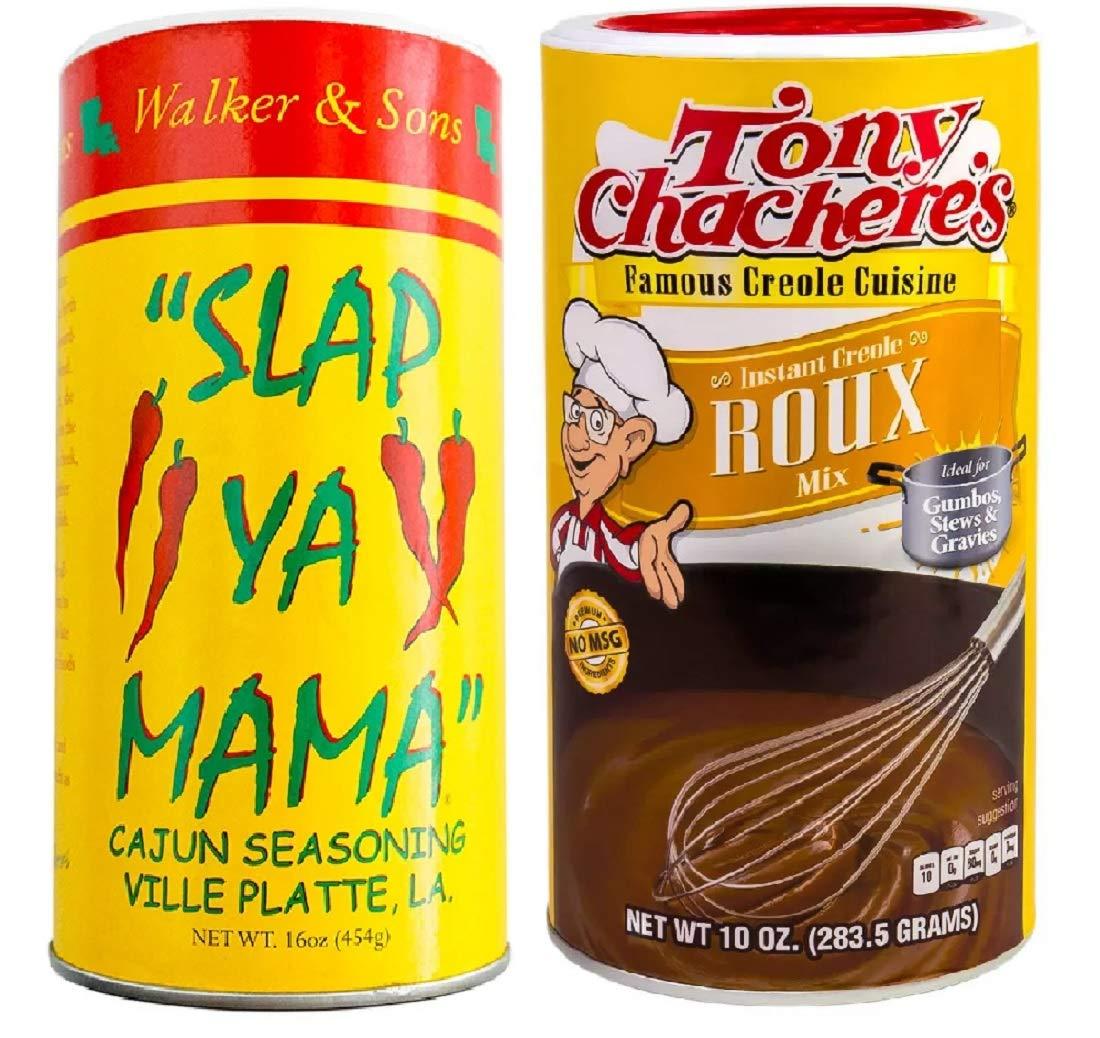 Cajun Creole No famous MSG Ranking TOP3 Cooking Bundle - Ya Slap 1 Orig of Mama each