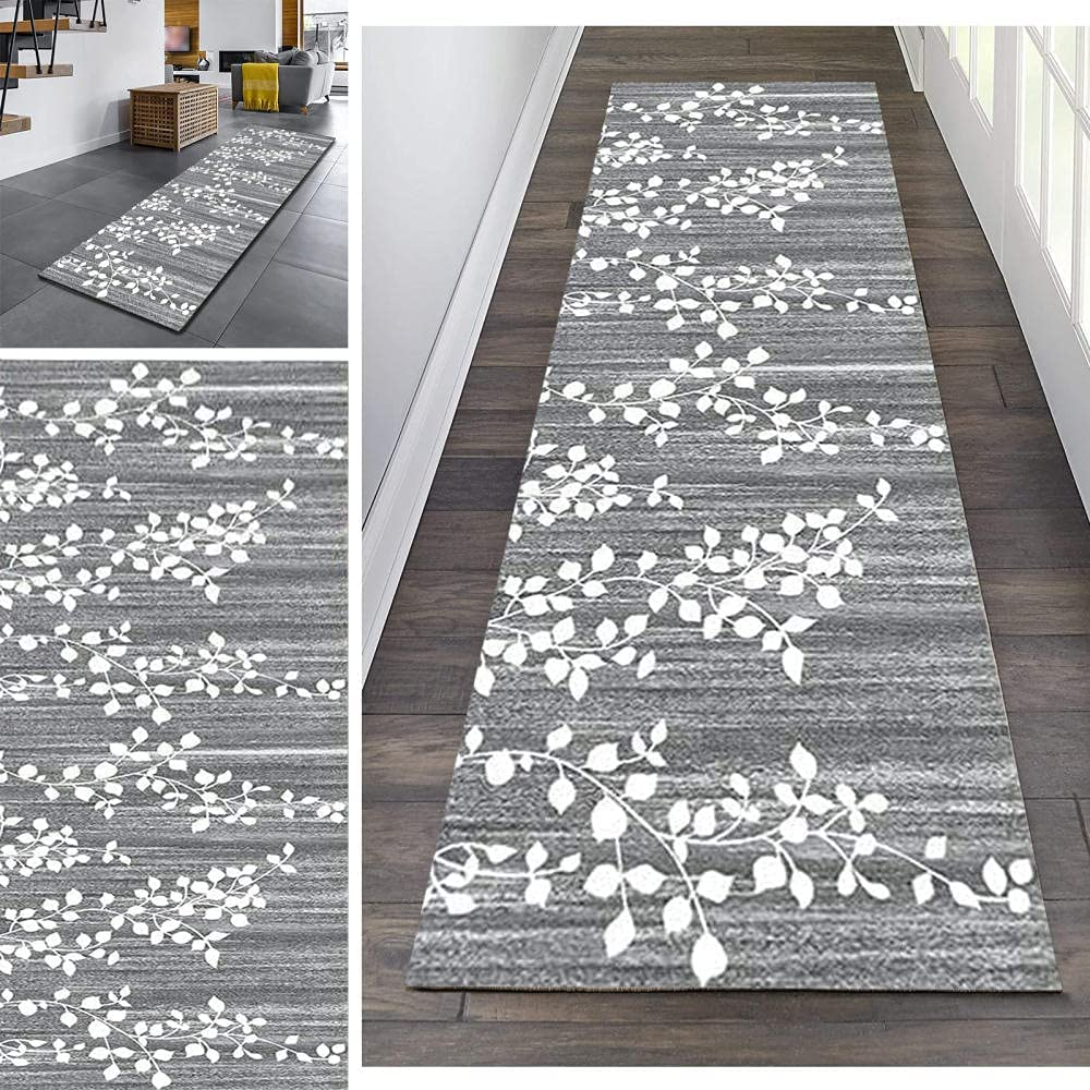 Runner Memphis Mall Rugs 2' X 6'Non Slip Washable Rug to Carpet Resistant Sta New life